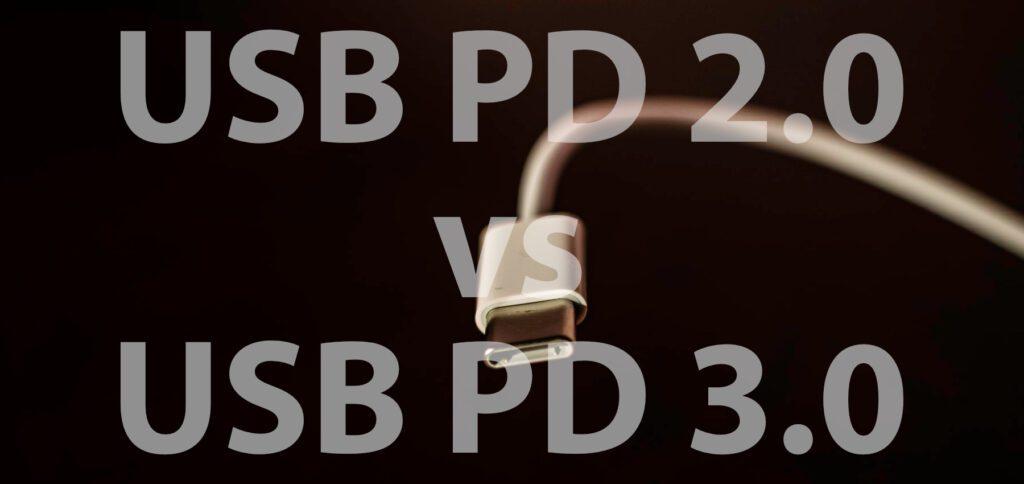 Den Unterschied zwischen USB PD 2.0 und USB PD 3.0 bekommt ihr hier verständlich erklärt. Was zeigt der Vergleich von USB-C Power Delivery der zwei Generationen? Im Grunde nur einen umfangreicheren Informationsaustausch.