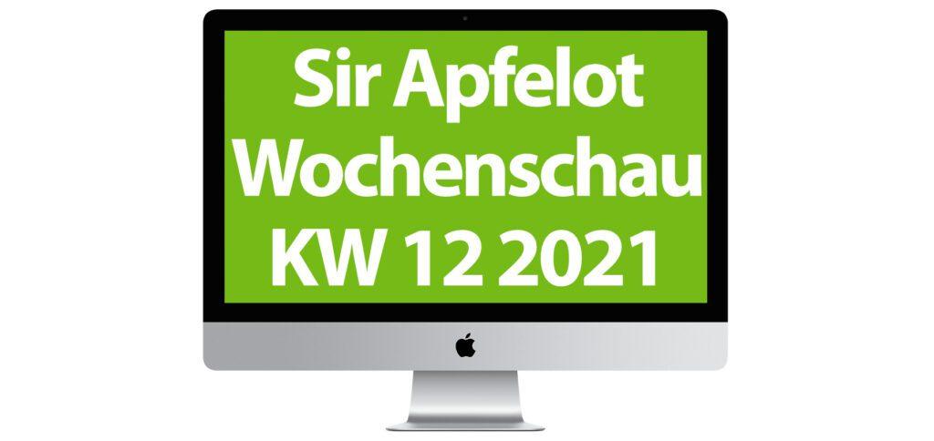 In der Sir Apfelot Wochenschau zur Kalenderwoche 12 in 2021 mit dabei: Story of Seasons, neue iMac-Modelle, iPhone 13 Leak, versteckter Sensor im HomePod mini, Jubiläum von Mac OS X, Intels Ambivalenz und einiges mehr.