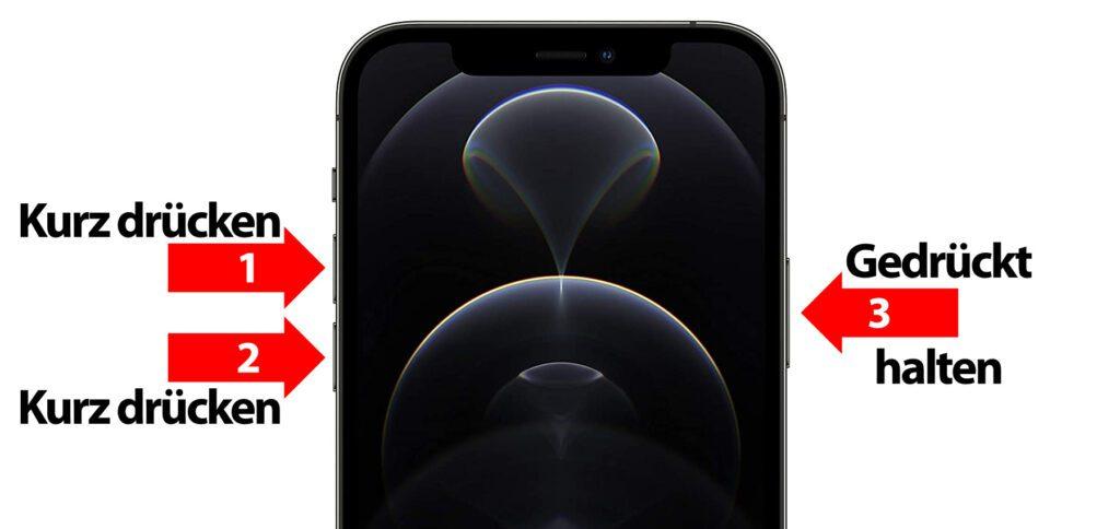 Apple iPhone 12, 12 Pro (Max), 12 Mini Hard Reset – Neustart erzwingen ohne Datenverlust. Hier findet ihr die Anleitung für den Apple iPhone Hard Reset unter iOS.