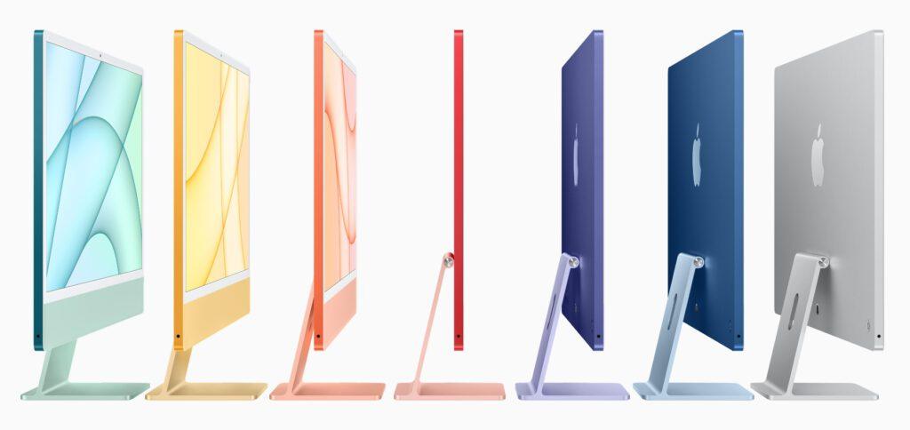 Den Apple iMac (early 2021) mit 24 Zoll Bildschirmdiagonale gibt es in sieben frischen Farben. Hier findet ihr die technischen Daten und Preise des Desktop-Computers aus Cupertino.