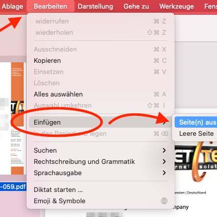PDF-Dateien zu einer großen Datei zusammenführen