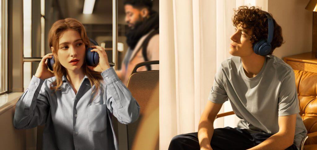 Die Soundcore Life Q35 sind Over-Ear-Kopfhörer mit Hybrid-ANC von Anker. Neben drei Stufen der Geräuschunterdrückung gibt es hohe Audio-Datenraten, verbesserte Telefonie-Qualität und bis zu 60 Stunden Laufzeit.