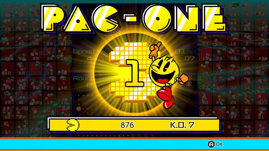 Ziel des Spiels ist es, PAC-ONE zu werden – also die letzte Person, die am Ende nicht von Geistern gefressen wurde.