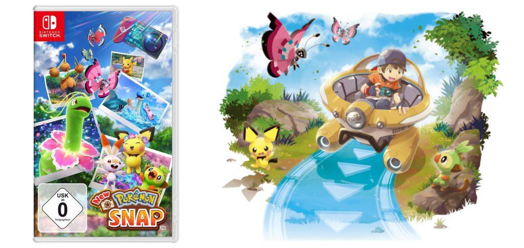New Pokémon Snap – Im Nachfolger des N64-Klassikers von 1999 könnt ihr ab heute in aktueller Grafik Pokémon beobachten, fotografieren und die besten Fotos sammeln sowie teilen. Das Spiel für die Nintendo Switch ist stark an die erste Version angelehnt, bringt aber neue Funktionen mit.