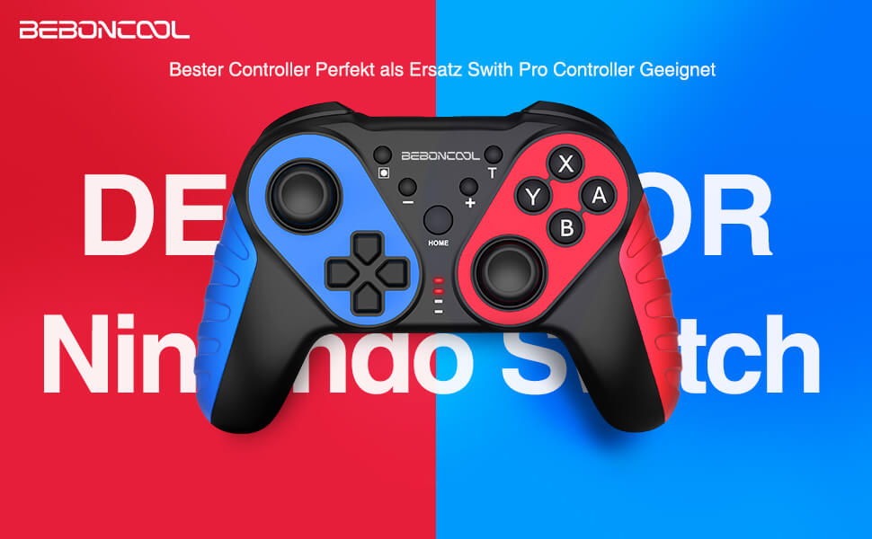 For me, the Beboncool Switch Controller is much more ergonomic than the small Joycons that come with the Nintendo Switch (Photo: Amazon).