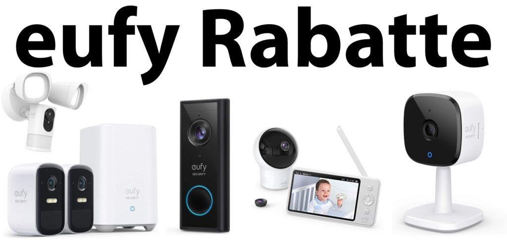 Ab heute und noch bis Sonntag bietet Anker sehr gute Rabatte für einzelne eufy-Angebote. Ob Überwachungskamera, Video-Klingel oder Babyfon: ihr könnt bis zu 50 Euro pro Produkt sparen.