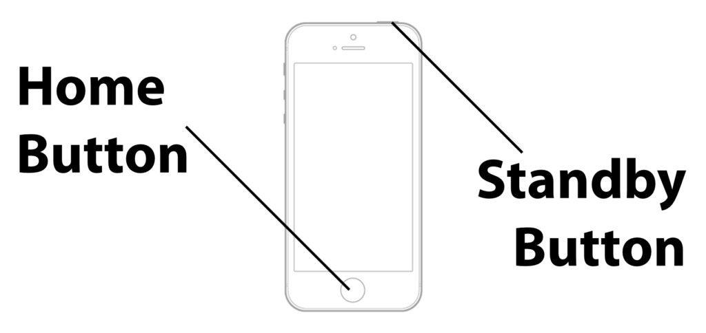 Müsst ihr am iPhone 4, iPhone 4s, iPhone 5, iPhone 5s / 5c oder iPhone SE (2016) einen Neustart erzwingen, dann hilft euch die Schritt-für-Schritt-Anleitung für den Hard Reset. In Kurz: Standby-Taste und Home Button gedrückt halten.
