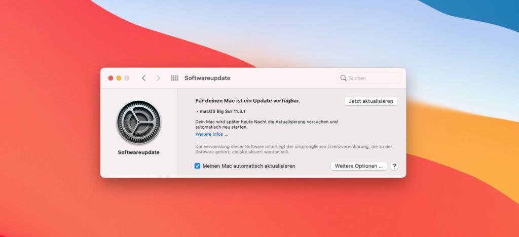 Das neue macOS 11.3.1 Update für macOS Big Sur ist ein Sicherheitsupdate, das zwei Lücken in WebKit schließt.