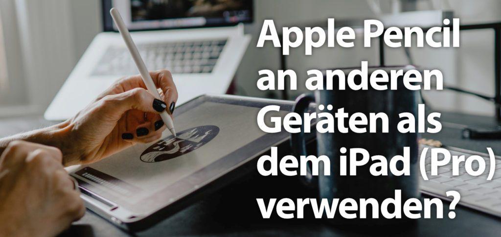 Aufgrund spezieller Display-Technologie, die für den Einsatz des Apple Pencil benötigt wird, sind nur bestimmte iPad Modelle mit dem Stylus kompatibel. Weitere Details in diesem Ratgeber!