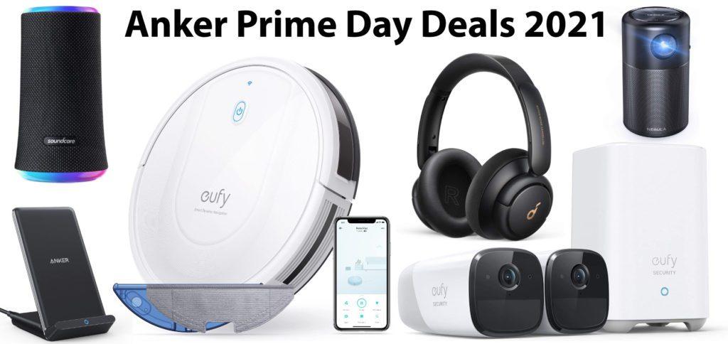 Mit den Deals zum Amazon Prime Day könnt ihr am 21. und 22. Juni 2021 beim Kauf von Anker-, eufy-, Soundcore- und Nebula-Produkten sparen. Rabatte bis 40% werden gewährt. In diesem Beitrag findet ihr alle Deals.