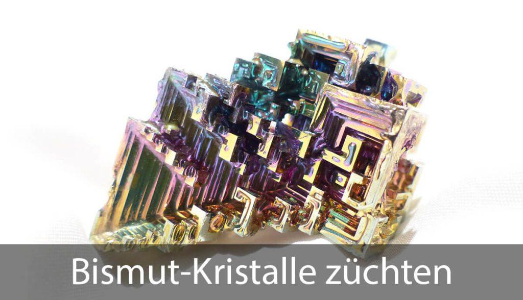 In dieser Kurzanleitung erkläre ich, wie man aus Bismut Kristalle züchten kann (Foto: Hans Braxmeier/Pixabay).