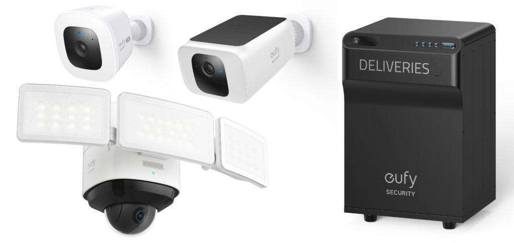 Mit den Überwachungskameras SoloCam und Floodlight Cam 2 Pro sowie mit dem Paketkasten SmartDrop hat die Anker-Marke eufy gestern neue Smart-Home-Technik für mehr Sicherheit vorgestellt.