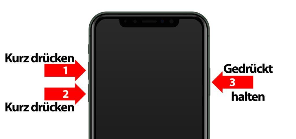 Mit dem iPhone 11 Hard Reset könnt ihr den iOS Neustart erzwingen, wenn sich das Apple-Smartphone aufhängt. Friert das Display ein, dann hilft euch diese Schritt-für-Schritt-Anleitung weiter!