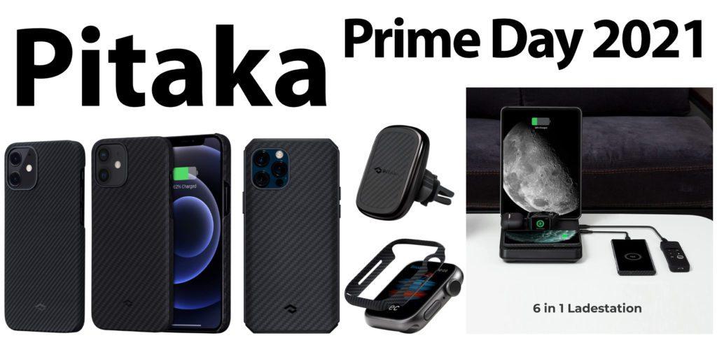 Zum Amazon Prime Day 2021 und darüber hinaus könnt ihr iPhone Hüllen, iPad Hüllen, eine Universal-Ladestation, Hüllen für Apple Watch und AirPods Case sowie weiteres Zubehör von Pitaka günstiger kaufen.