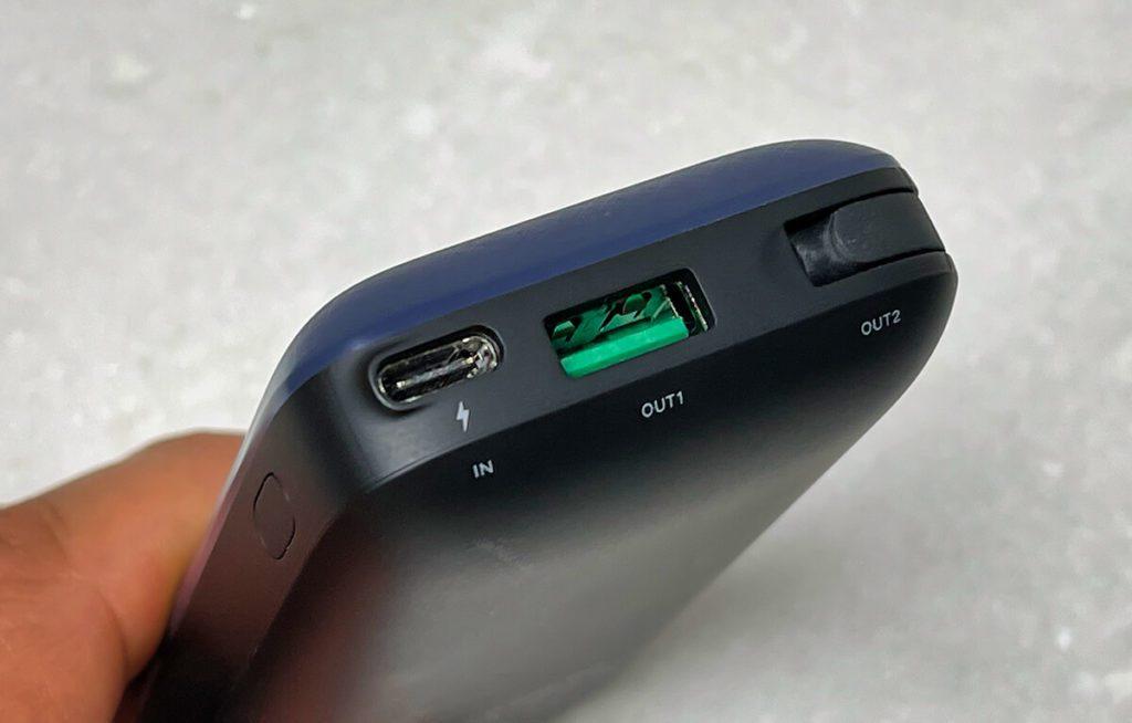 Die Anschlussvielfalt der Ugreen PowerDot Powerbank ist sehr hilfreich, wenn man unterschiedliche Geräte wie das iPhone und das USB-C-iPad im Einsatz hat.