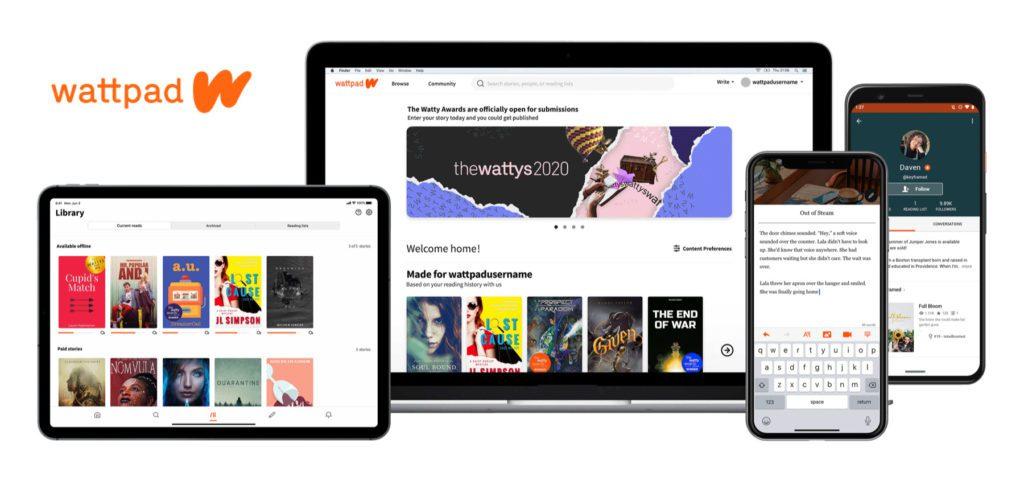 Wattpad – Plattform zum Geschichten schreiben, lesen und veröffentlichen. Bei Wattpad könnt ihr Buch-Ideen, Manuskripte und mehr entdecken lassen, damit ein Buch oder Film daraus wird. Es gibt auch Wattpad Schreibwettbewerbe sowie weitere kreative Ressourcen für Autoren und Autorinnen.