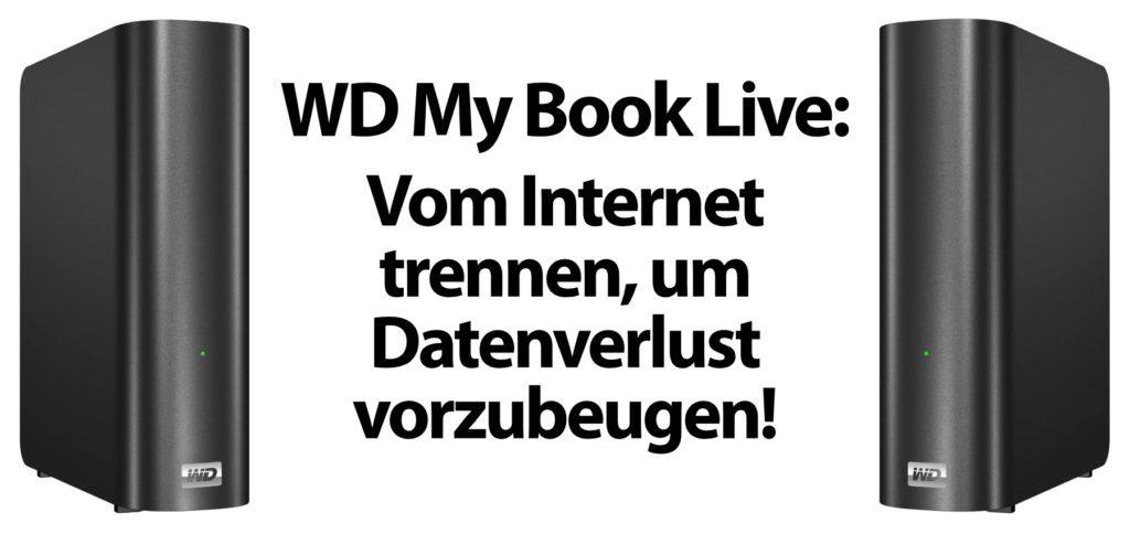Ihr solltet aktuell WD My Book Live Festplatten bzw. NAS-Systeme vom Internet trennen, damit sie nicht durch einen Hacker-Angriff gelöscht werden. Hier findet ihr offizielle Infos zur Firmware-Schwachstelle CVE-2021-35941.