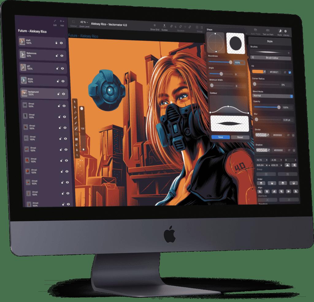 Ihr wollt eine Design App, die nichts kostet? Dann probiert mal Vectornator aus. Designs, Illustrationen und Kunst lassen sich damit flüssig sowie gratis erstellen.