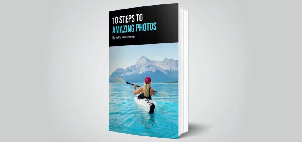 """Das Affinity Revolution eBook """"10 Steps to Amazing Photos"""" von Ally Anderson bekommt ihr bis zum 25. Juli 2021 gratis, wenn ihr euch für den entsprechenden Video-Kurs anmeldet."""
