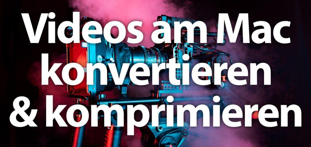 Am Apple Mac Videos komprimieren und konvertieren funktioniert mit verschiedenen Apps und Online-Diensten. Einige können mehr, andere zu wenig. Hier findet ihr ein paar Beispiele.