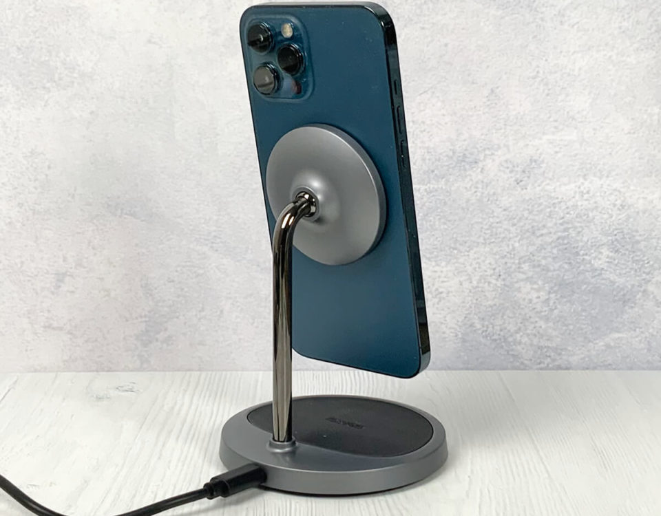 Test: 2-in-1 Magnetic Wireless Charging Stand von Choetech