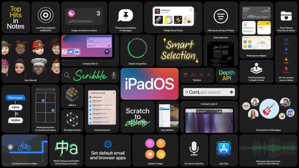 Im Rahmen der WWDC20 Keynote im Juni 2020 wurde iPadOS 14 vorgestellt.