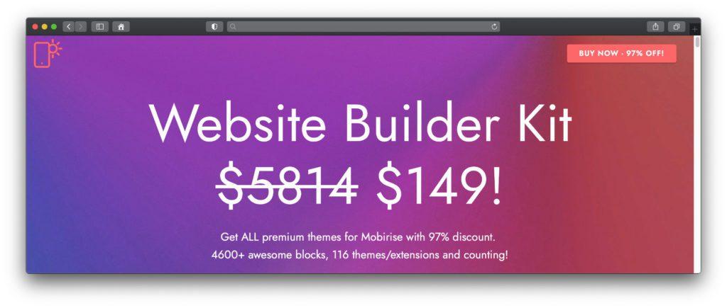 Das Website Builder Kit ist zwar kostenpflichtig, bringt aber alle Möglichkeiten für die umfangreich nutzbare Webseite mit. Ist diese erst einmal erstellt, kann man das Abo auch kündigen. Danach kann die Seite / können die Seiten weiter betrieben und angepasst werden.
