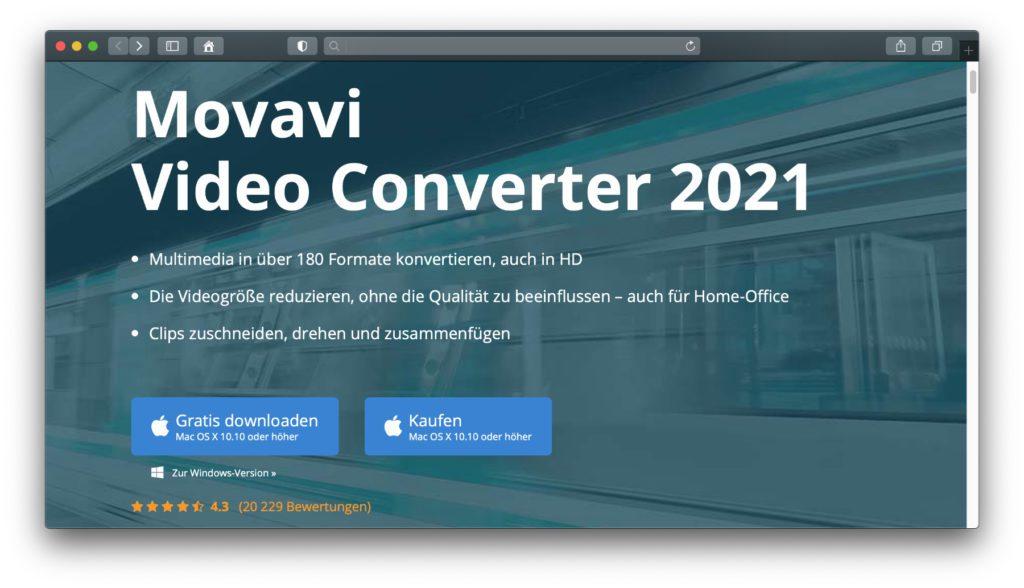 Der Movavi Video Converter in der Version für 2021 kann nicht nur Videos konvertieren, sondern auch Bilder, Audio und Untertitel-Formate umwandeln. Zudem lassen sich Videos vor dem Speichern im neuen Format und Codec bearbeiten.
