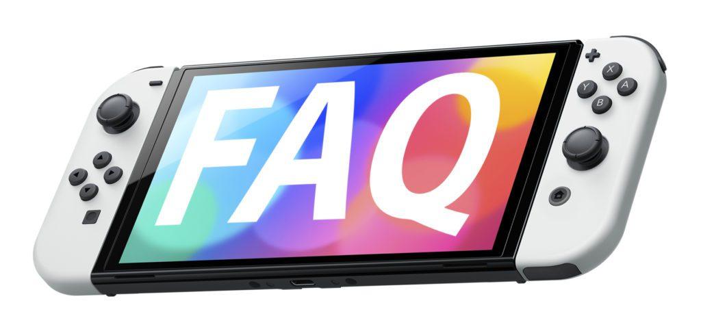 Mit neun Fragen und Antworten gehen wir in diesem Nintendo Switch OLED-Modell FAQ auf Verbesserungen, 4K-Auflösung, Spiele, Zubehör, Kompatibilität, Release, Preis und weitere Details ein.