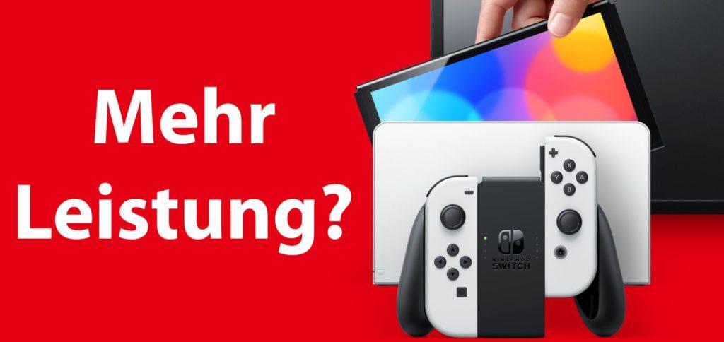 Nintendo Switch Pro-Modell? Nicht wirklich, denn wenn es eine Leistungssteigerung gibt, dann fällt sie wahrscheinlich wieder recht klein aus. Eine 4K-Auflösung am Fernseher gibt's mit dem Nintendo Switch OLED Modell schonmal nicht.