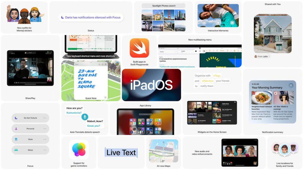 Bei der WWDC21 Keynote im Juni 2021 war iPadOS 15 ein Thema.