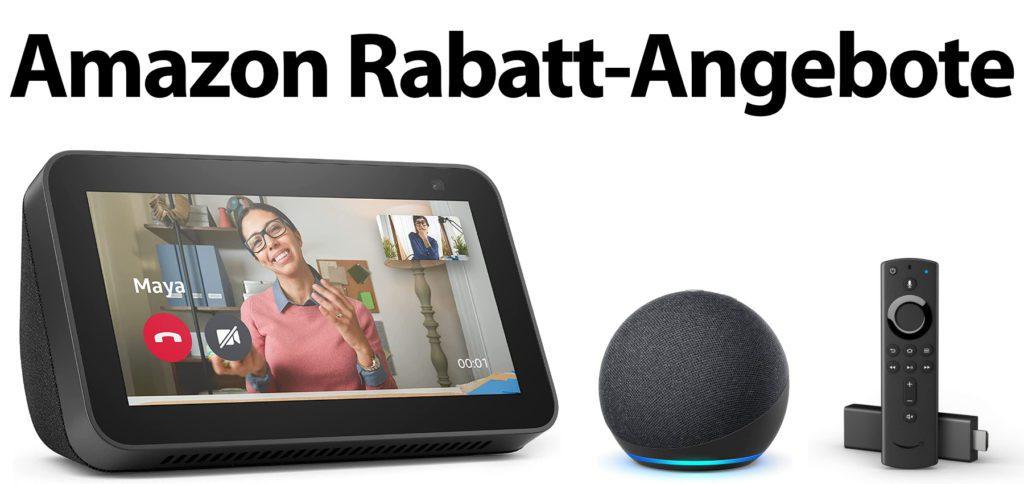 Heute bekommt ihr bei Amazon bis zu 50% Rabatt auf hauseigene Geräte aus dem Fire TV- und Echo-Sortiment. Einigen Quellen nach sollen auch Kindle-Geräte billiger werden.