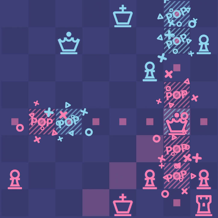 Chessplode - chess, puzzles and explosions
