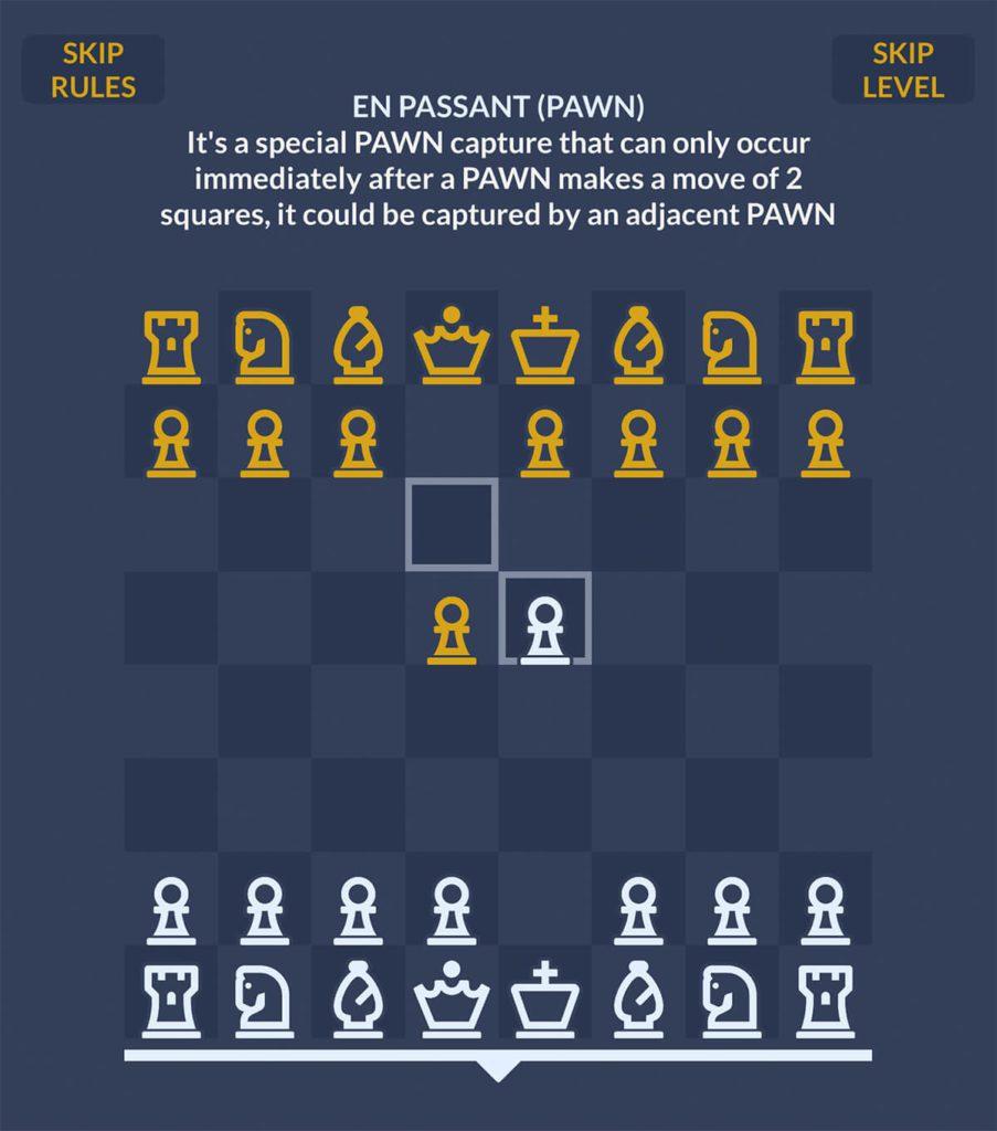 In Chessplode ist auch ein (englischsprachiges) Tutorial enthalten. Damit lernen Einsteiger, die Regeln von Chessplode und Besonderheiten wie Rochade und En passant Schlagen von Figuren.