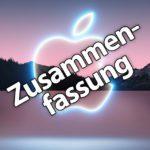 Apple September-Keynote 2021: iPhone 13, Apple Watch Series 7 & neue iPad-Modelle