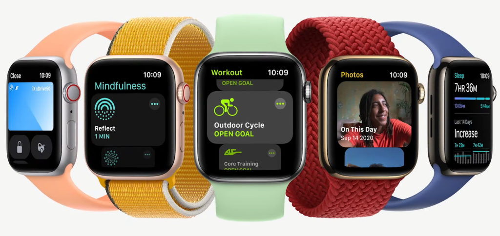 The new Apple Watch Series 7 will hit the market later in the fall of 2021. There is then a choice of models with 41 mm and 45 mm housings. All previous bracelets are still compatible.