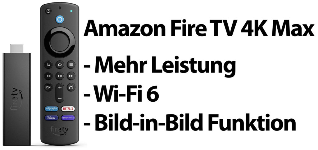 The Amazon Fire TV Stick 4K Max brings 40% more power than its predecessor and thus also the possibility of picture-in-picture playback. Better WLAN performance is achieved with Wi-Fi 6. Here you can find the comparison to the predecessor and the Fire TV Cube.