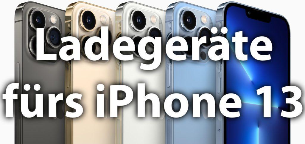 Das Apple iPhone 13 und iPhone 13 Pro wird ohne Netzteil geliefert. Hier findet ihr USB-C Ladegerät-Empfehlungen mit bis zu 100 Watt Leistung. Diese Lader könnt ihr auch mit dem iPad, MacBook Pro / Air sowie anderen Geräten nutzen.