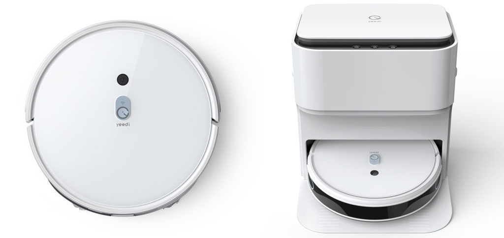 You can control the Yeedi vacuum cleaner and mopping robot with a smart charging, cleaning and drying station from your smartphone using the Yeedi app. It is also compatible with some language assistants. It should be able to clean floors in large apartments fully automatically.