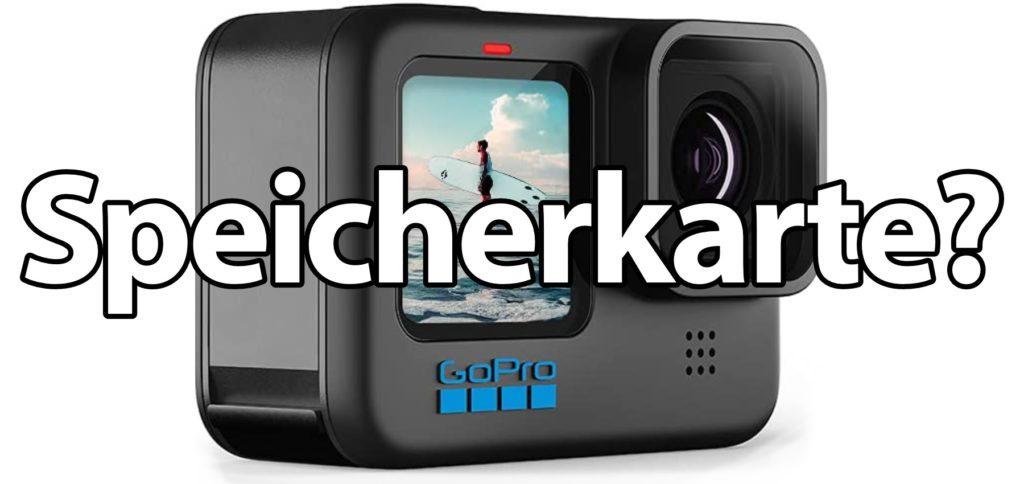 Welche SD-Karte für die GoPro HERO10 Black nutzen? Hier findet ihr microSD-Empfehlungen für die Action Cam sowie Hinweise auf die richtige GB-Anzahl.