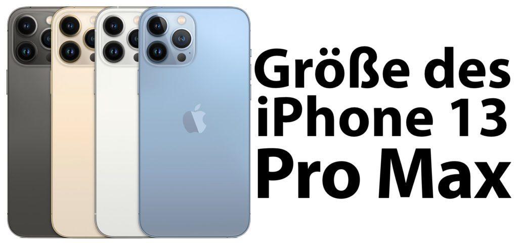 Hier findet ihr die Apple iPhone 13 Pro Max Maße sowie den Vergleich zu anderen Modellen. Außerdem gibt's die Anleitung für die AR-Darstellung im eigenen Zuhause.