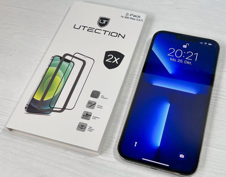 Utection Panzerglas für iPhone 13 Pro Max im Test